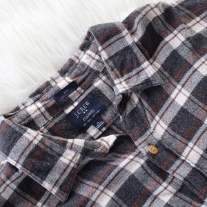 JCrew Men's Flannel Button Down